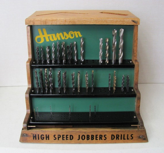 Vintage Hardware Store Display Merchandiser