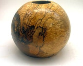 Spalted Maple Globe