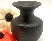 Dark Purple Textured Vase