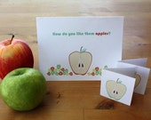 Lots of Apples - Printable Stationary Set