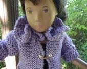 Sasha's Purple Cardi