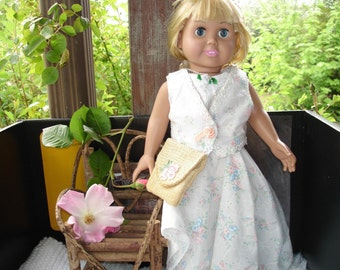 Twirly Skirt and Vest Top for Doll