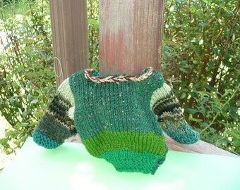 Love those greens pullover (For Dolly or Teddy)