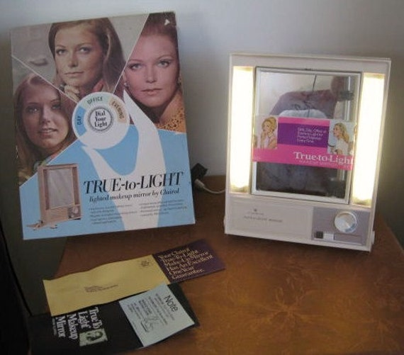 Sale1968 Clairol True To Light Makeup Mirror Lm 1 By