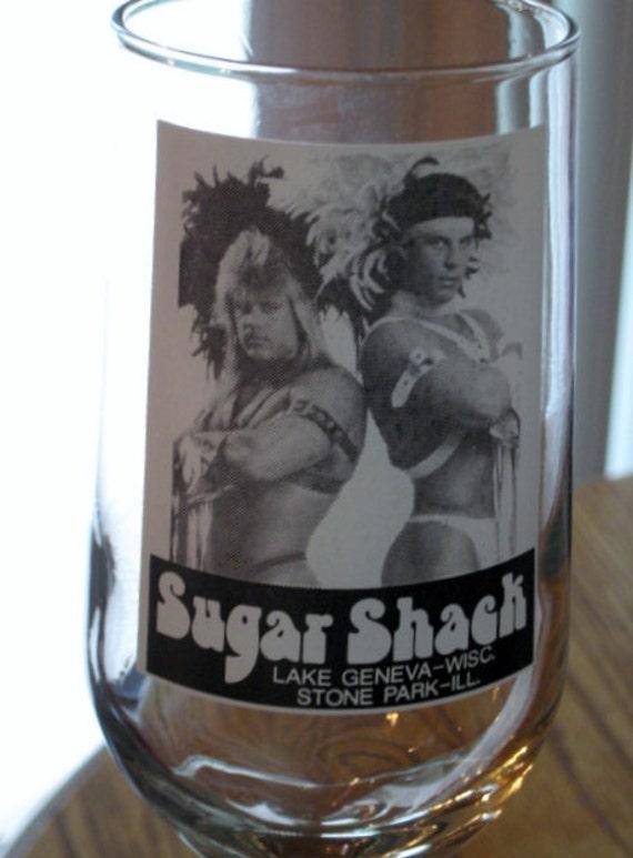 Sugar Shack Strip Club 80 S Drink Glass
