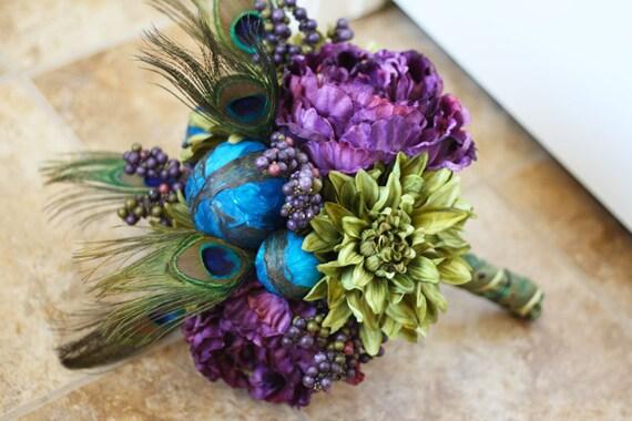 Custom Listing for Melanie - Peacock Wedding Package