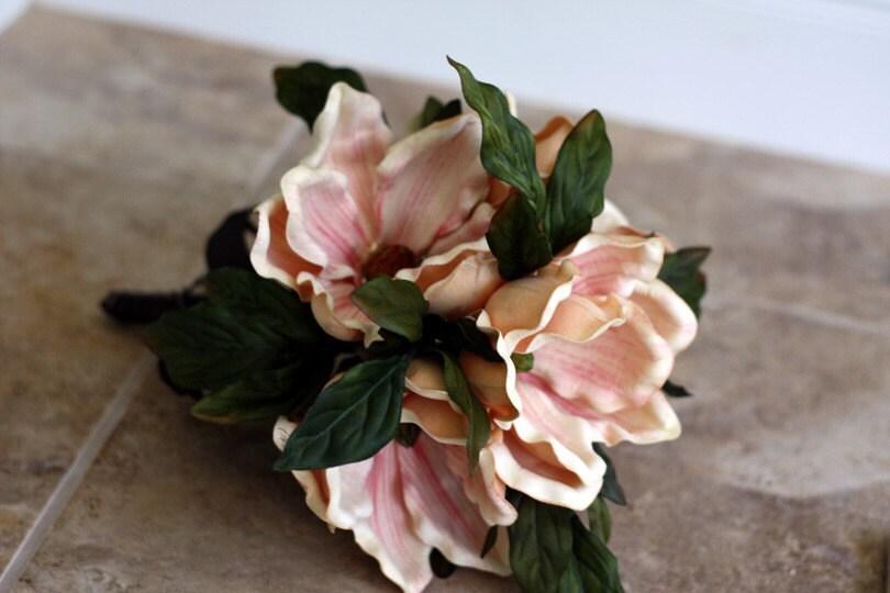 Southern Charm Magnolia Bridal Bouquet