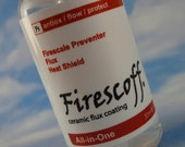 Firescoff for Copper and Bronze or Brass Kit - Replace Flux, Firecoat, Pickle for Flawless Welds & Near Perfect Color Match-SOLDER Included