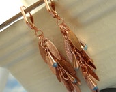 Special Edition Copper Shaggy Earring Kit - Beginners and Intermediate Chainmail