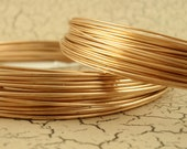 Round Solid Bronze Wire - 100% Guarantee - 8, 10, 11, 12, 14, 16, 18, 20, 22, 24, 26, 28 gauge - Made in the USA