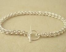 Sterling Silver Jens Pind Chainmail Bracelet - Ready Made or Kit