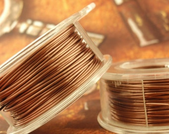 Antique Copper Wire - Economical - 100% Guarantee - YOU Pick the Gauge 16, 18, 20, 21, 22, 24, 26, 28