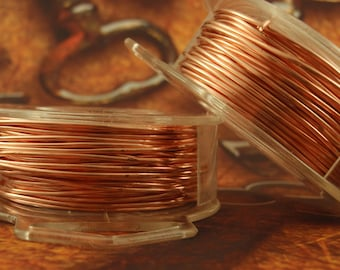 Copper Wire - Solid Raw Metal - Dead Soft 100% Guarantee You Pick Gauge 12, 14, 15, 16, 18, 20, 21, 22, 24, 26, 28, 30, 32