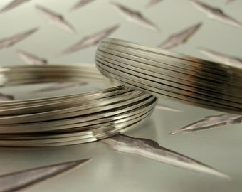 SALE Half Round Stainless Steel Wire - 316L Top Shelf - You Pick Two Sampler - 100% Guarantee