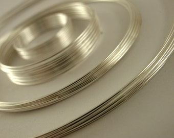Silver Plated Memory Wire Sampler - 39 Loops - Perfect for a Variety of Rings, Bracelets and Necklaces