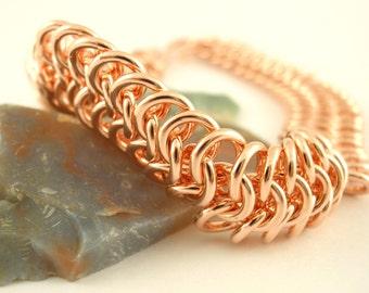 Grand European 4 in 1 Copper Chainmaille Bracelet Kit