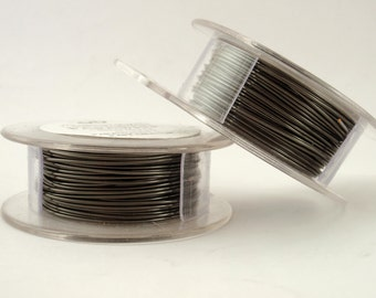 Hematite Colored Wire - Enameled Coated Copper -100% Guarantee YOU Pick Gauge