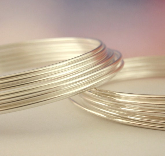 16 gauge Fine Silver Wire with Copper Core - Half Hard - 6 Coils total of 18 Meters - 100% Guarantee
