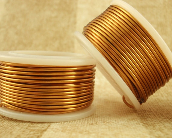 Non Tarnish Bronze Wire -  Economical - 100% Guarantee - YOU Pick the Gauge 16, 18, 20, 22, 24, 26, 28, 30, 32