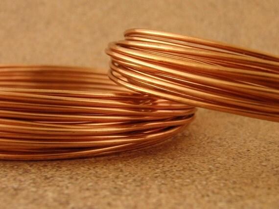 SALE 14 gauge Non Tarnish Copper Wire - Dead Soft - 10 Feet - 3.3 meters  100% Guarantee