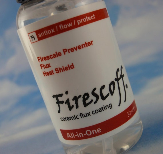 1 oz Firescoff for Precious Metals Kit - Replace Flux, Firecoat, Pickle - Make Flawless Welds & Near Perfect Color Match - Solder Included