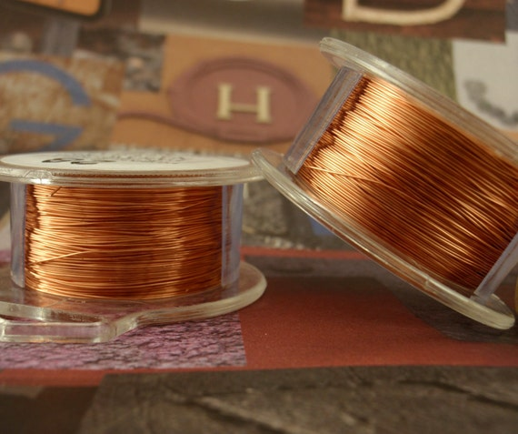 SALE 26 gauge Copper Wire - Non Tarnish - 90 Feet - 27 Meters - Enameled Coated Copper 100% Guarantee