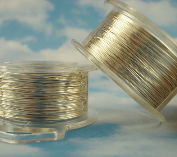 SALE Economical Non Tarnish Silver Plated Enameled Coated Copper Wire 28 gauge - 100% Guarantee -  60 meters 200 feet