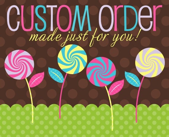 Custom Order for name canvases