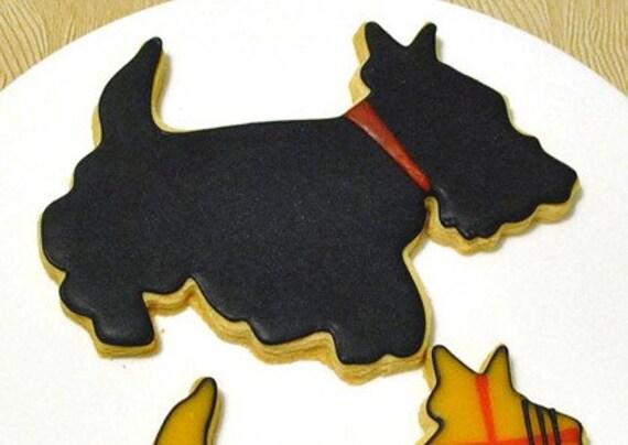 Scotty Dog Cookies - 1 Dozen