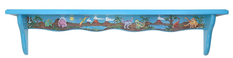 Hand painted dinosaur shelf exclusive design - Exclusive decoration of book shelf ...