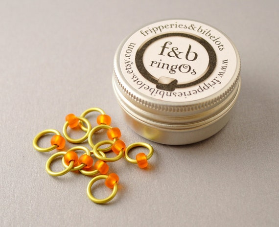 ringOs Rubber Ducky - Snag-Free Ring Stitch Markers for Knitting