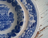 Beautiful Vintage Saucer and Small Bowl