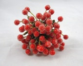 Red Berry Spray Picks set of 6