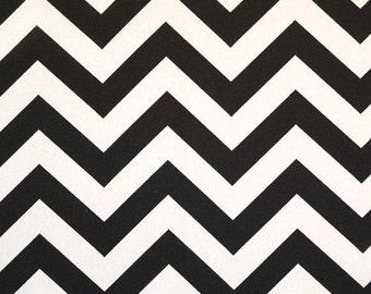 Premier Prints Zig Zag .....Black White.....Home Decor fabric by the yard