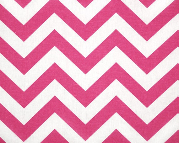Premier Prints Zig Zag .....Candy Pink.....Home Decor 3/4 yard