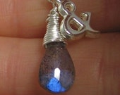 And- Sterling and Labradorite Necklace