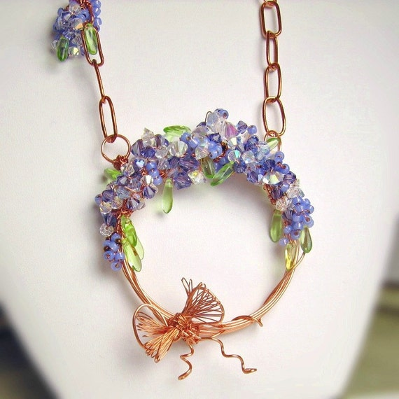 Wisteria Memories Necklace