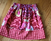girls twirly twirl skirt fall baby toddler Amy Butler love wine polka dot 6 mos-5t