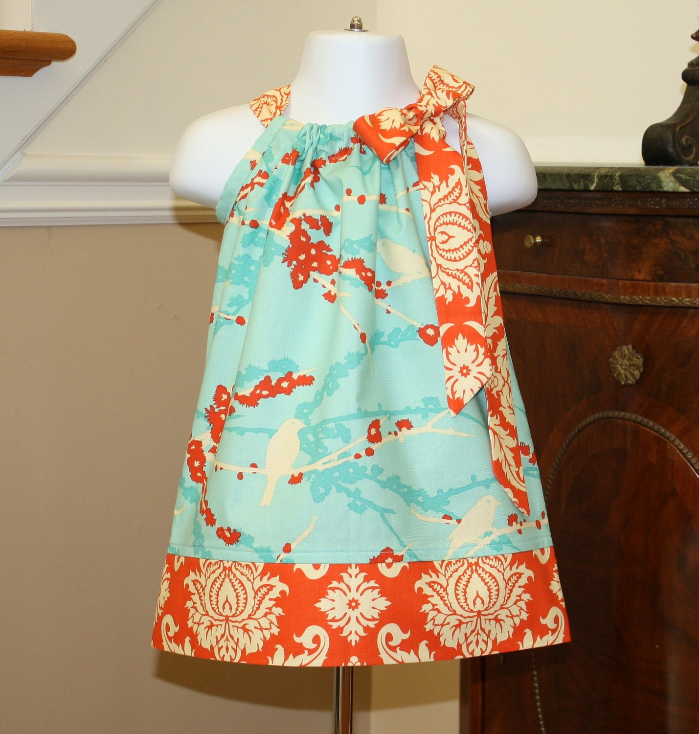 Cute Ideas For Pillowcase Dresses : toddler girl Pillowcase Dress for easter joel dewberry aviary