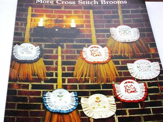 More Cross Stitch Brooms Leaflet