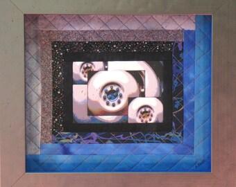 Framed quilt art | Etsy : framed quilt art - Adamdwight.com
