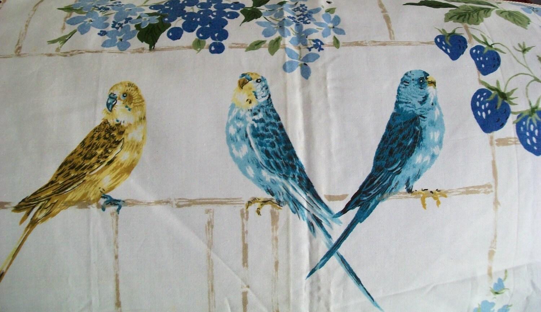 Vintage Fabric Bird 34