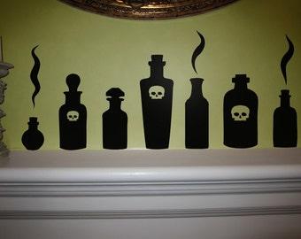 Spirit Bottles - Wall Decals
