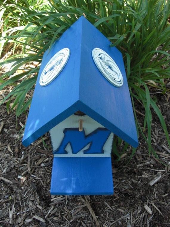 Birdhouse -  Dallas Mavericks by ABCbirdhouses