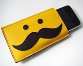 Moustache iPhone Cozy