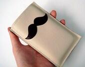 iPhone Case / Cozy / Sleeve / Cover - Fancy Moustache