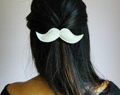 Mustache Hair Clips