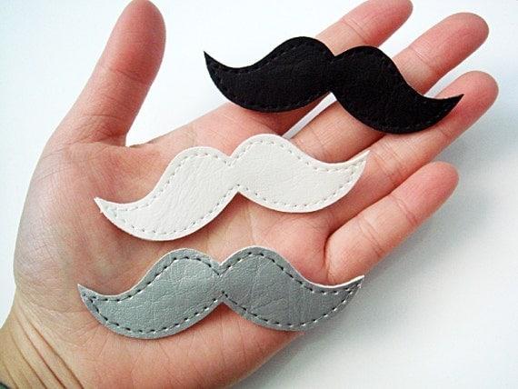 Fancy Moustache Pins