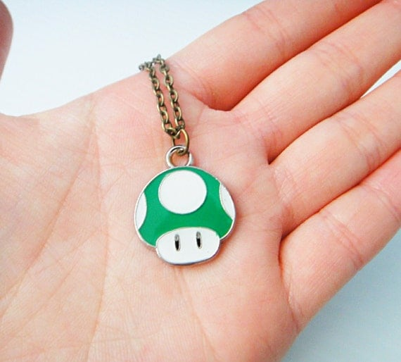 1up Mushroom Necklace