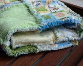 Safari Animal Rag Quilt